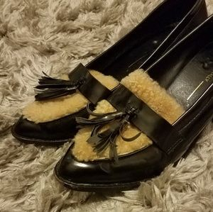 Intentionally blank Shoes - INTENTIONALLY BLANK FUR LOAFERS